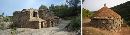 Restoration of vineyard huts and stone vats